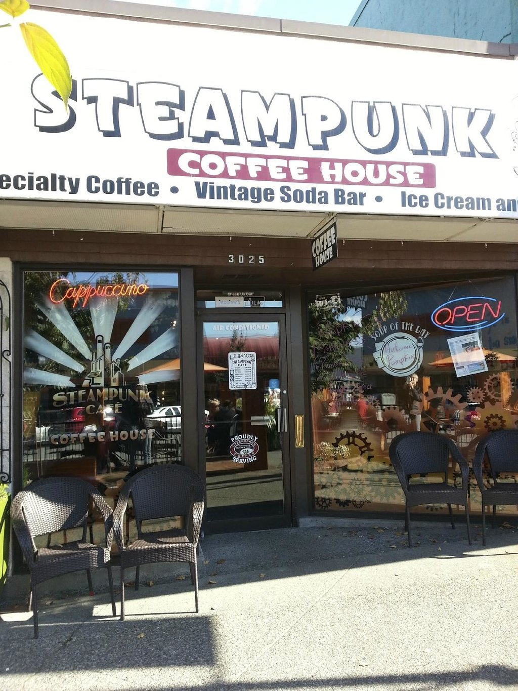 SteamPunk Cafe & Coffee House
